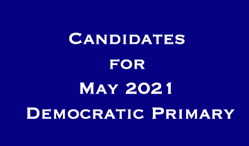 Candidates for May 2021 Primary
